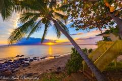 Beach Park Sunset